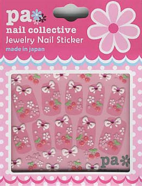 DL- Sticker Cherry & flower