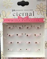 DL- Sticker Jewel pink bow