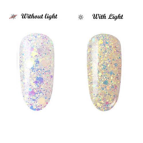 BL- Light change glitter #5