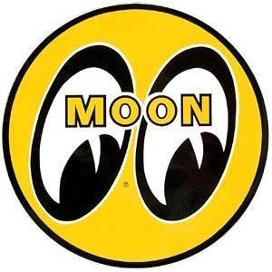 Moon dekal rund 3