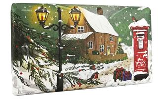 Festive Wrapped Soap English Countryside in Winter 200gr
