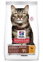 Hills Katt Mature Hairball&Indoor Chicken 1,5kg