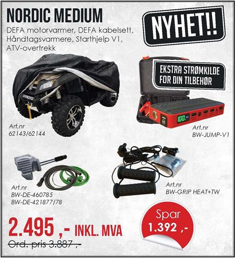 Nordic kampanjepakke
