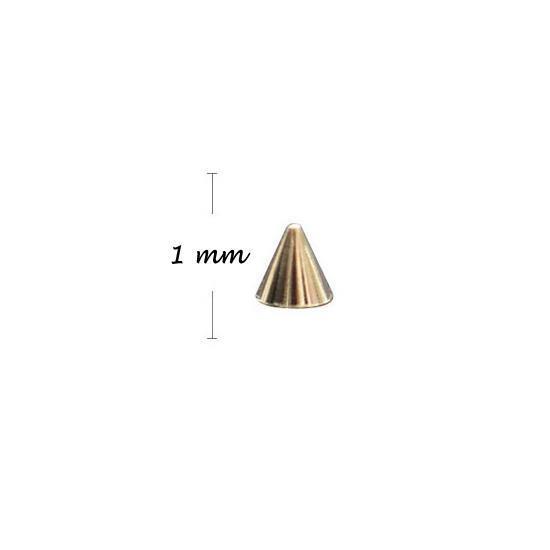 KN- Studs High GOLD 1 mm