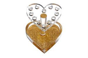 KN- Brush Holder heart