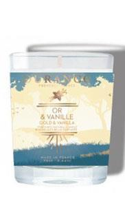 Christmas 2021 Candle Gold & Vanilla 75gr