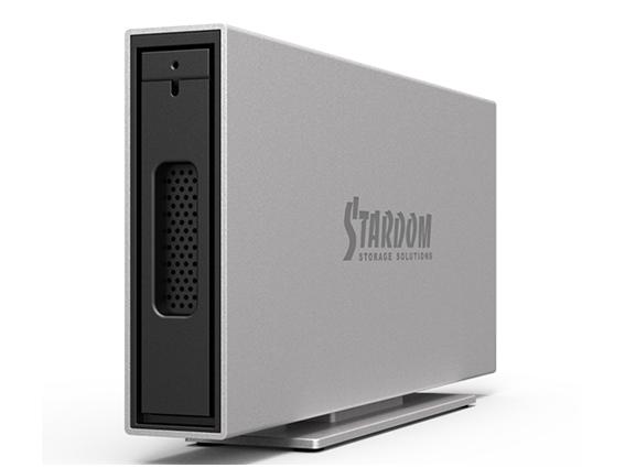 Stardom ekstern 10TB harddisk m/ USB-C
