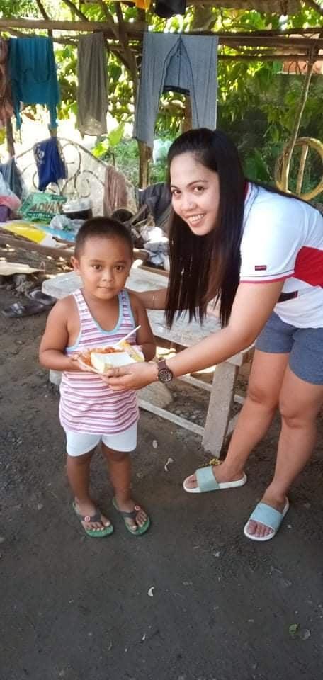 Fornøyd liten mann. Filippinene.
