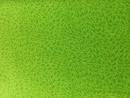 Lys grønn m/ blader