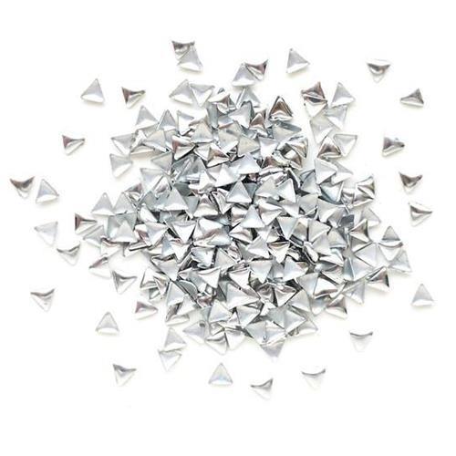 KN- STUDS Triangle Silver