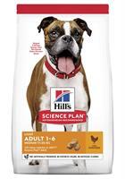 Hills Hund Adult Light Medium Chicken 14kg