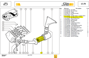 FILT.AIR ASHP BI-COUCHE - Air filter