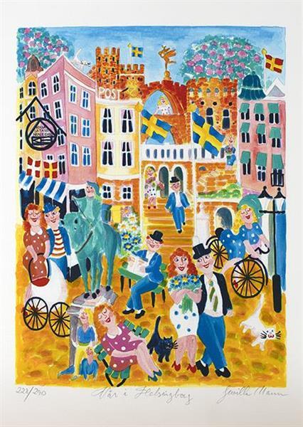 Vår i Helsingborg