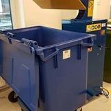 Kärlpress med 660 liters kärl