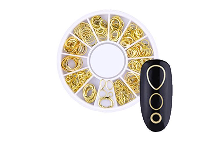 BL- Wheel Gold Circles