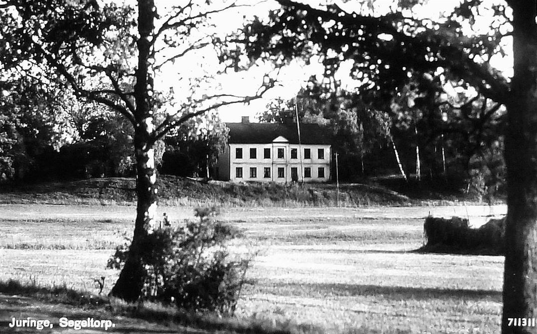 Juringe gårds gamla mangårdsbyggnad