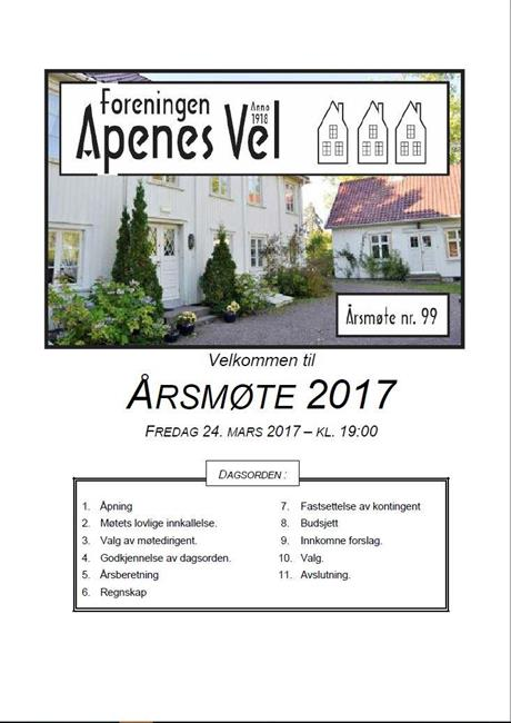 Program for Årsmøte 2017