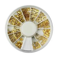 KN- WHEEL Gold Mix Metal deco