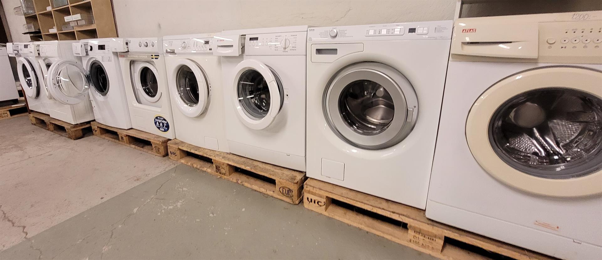 Tvättmaskiner 4-8 Kg.