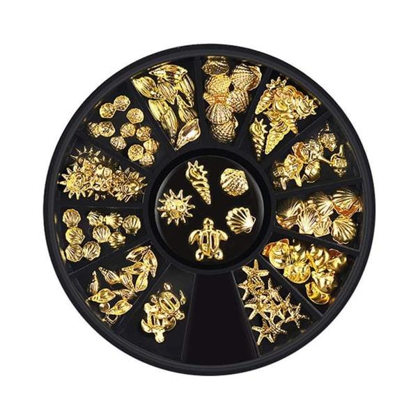 BL- Wheel Ocean Gold