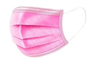 DM- Face Mask Pink 50p