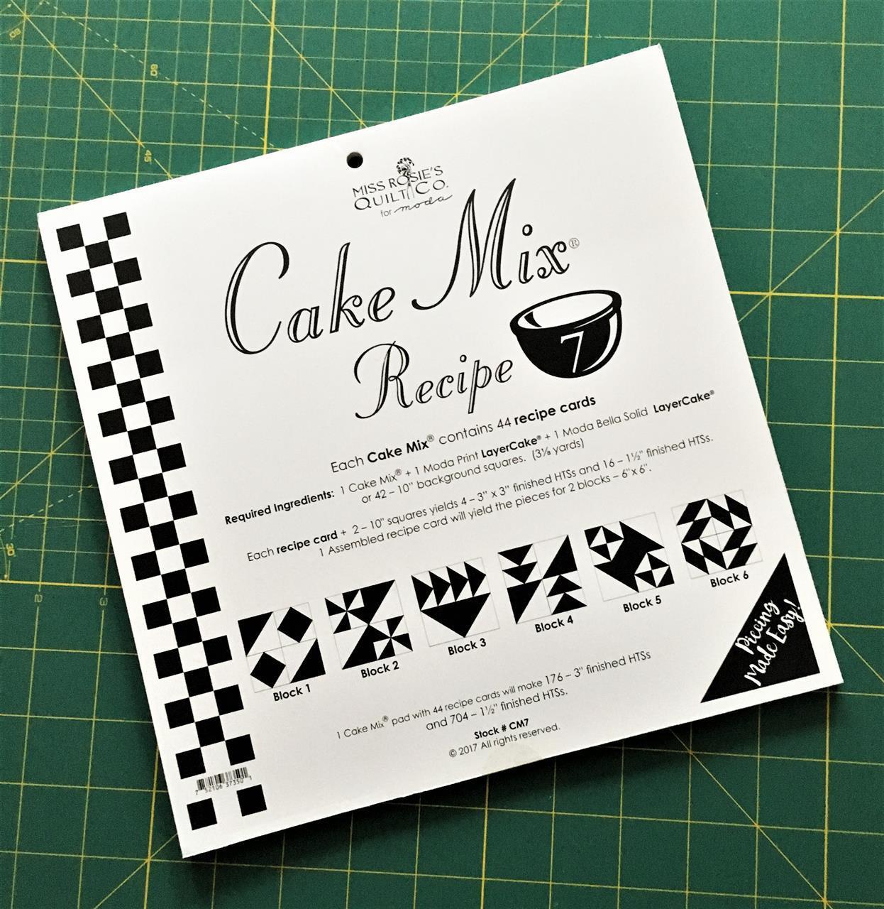 Cake Mix Recipe nr. 7
