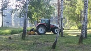 Stubbfräsning och markberedning