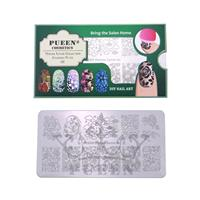 PUEEN- Nail Stamp Plate Nature Lover 01
