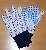 Barnhandske i bomull