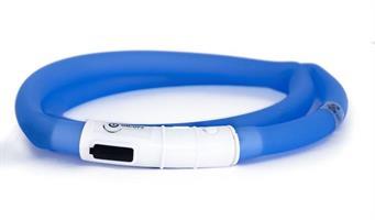 LED-ring silicon blå