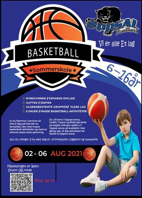 Basketball Sommerskole Uke 31