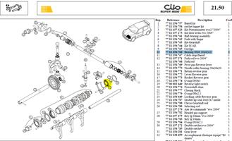 RLT A BIL.MOD - Bearing 6004 20x42x12