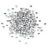 KN- STUDS Round Silver 3mm