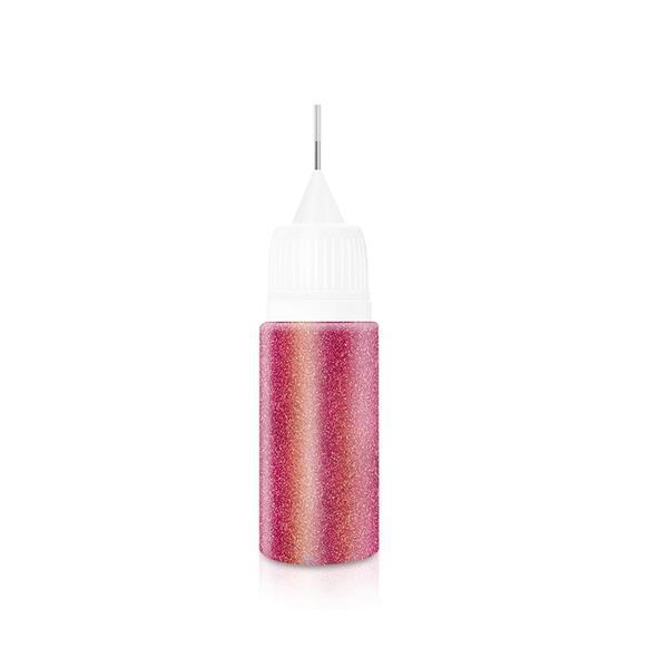 KN- Glitter Bottle #06 Rasberry Red