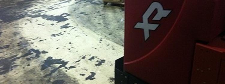 Dåliga golv kräver bra maskiner...