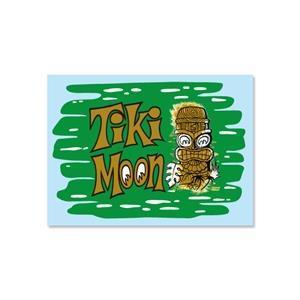 Tiki MOON dekal
