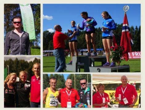 Personlige rekorder under NM i Tønsberg