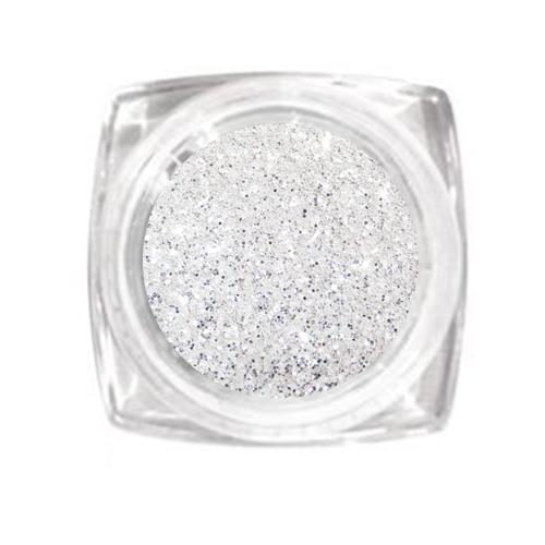 KN- Jar Glitter HOLO SILVER
