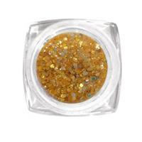 KN- Jar Glitter ORANGE
