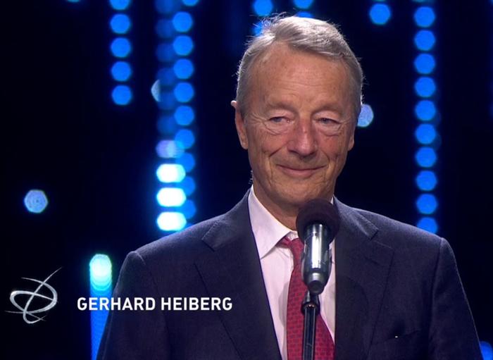 Vi gratulerer vårt medlem Gerhard Heiberg