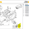 KIT REVISION BV - Rebuilt set Clio S1600