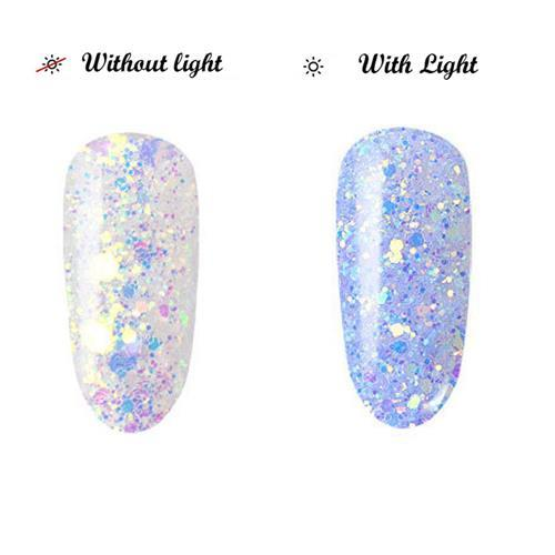 BL- Light change glitter #2