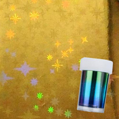 DM- Folie #13 Gold Holo Star