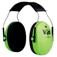 Hörselskydd Barn Neongrön