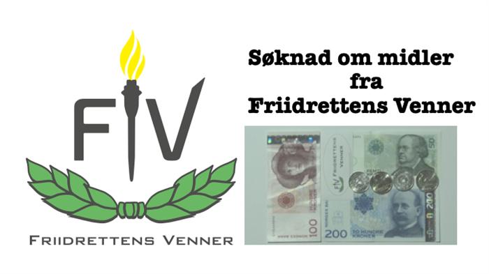 Søknad om midler fra Friidrettens Venner for 2019