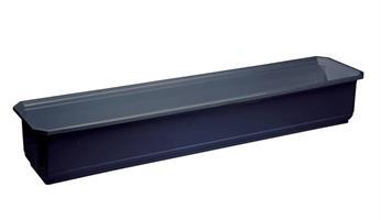 Balkonglåda 50cm Svart