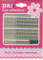 DL- Sticker ribbon gold