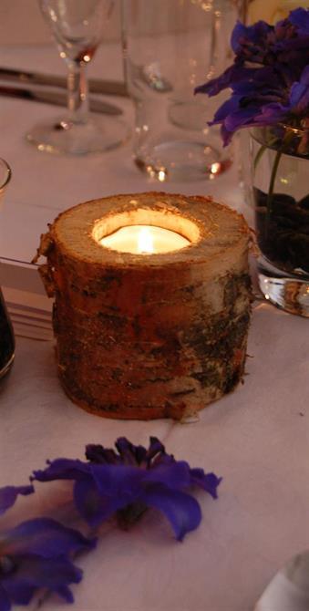 Telysestakar blei også laga i bjørk