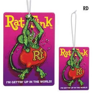 Rat Fink doftgran, röd & blå