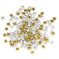 KN- STUDS star BIG gold